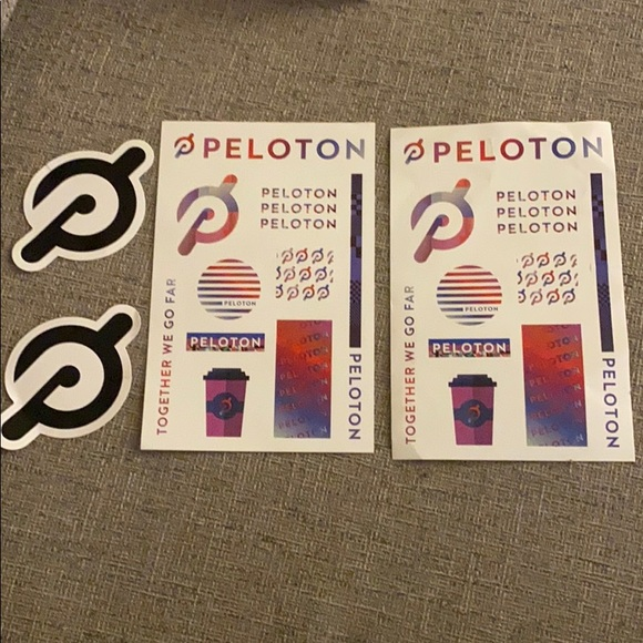 Peloton Other - NEW - Lot of Peloton stickers